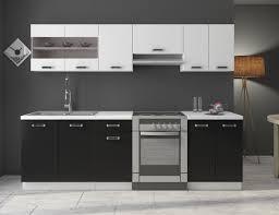 K Henzeile Preiswert Küche Omega 240 Cm Küchenzeile Küchenblock Variabel Stellbar In