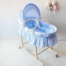 Cheap Baby Beds Cribs Newborn Baby Cradle Crib Baby Cradle Sleep Basket Wave Portable