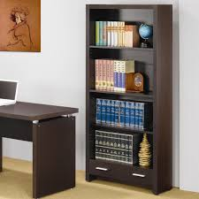 Computer Desk With Bookcase by Papineau 4 Shelf Bookcase With Storage Drawer Lowest Price Sofa