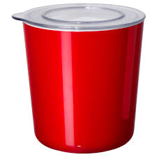 ljust jar with lid red clear ikea prepare for fall with ikea