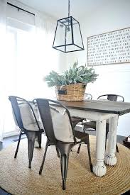 farmhouse table with metal chairs farmhouse table with metal chairs rustic metal wood dining chairs