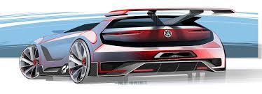 volkswagen supercar volkswagen unveils gti roadster vision gran turismo
