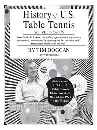 4000 dollar ping pong table shaped like easter island history of u s table tennis vol vii 1973 1975 table tennis