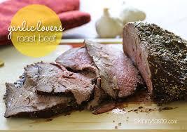 garlic lover s roast beef skinnytaste