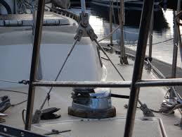 manual anchor windlass what did you do to your sailing boat today sailing forums