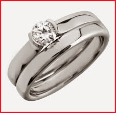 wedding ring model puzzle wedding rings 305178 cheap silver bridal ring sets