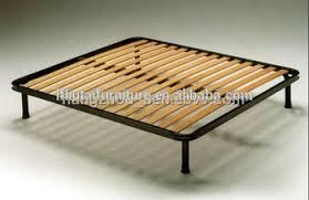 Slatted Bed Base Queen Other Furniture Part Type And Solid Wood Wood Style Slatted Bed