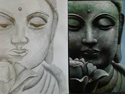 pencil sketches of buddha lord buddha pencil sketch desipainters