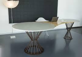 Schreibtisch Aus Glas Schreibtisch Aus Eiche Massivholz Edelstahl Beton Tabula