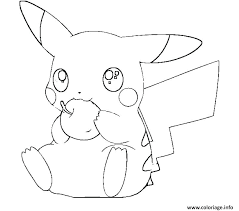 Coloriages Pikachu A 9 Dessin Colorier Pikachu  nakupovaniinfo