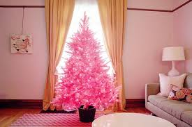 pink christmas tree pink christmas trees are trending online and we re totally obsessed