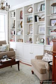 decorating built ins how to decorate shelves in the living room best 25 decorating a