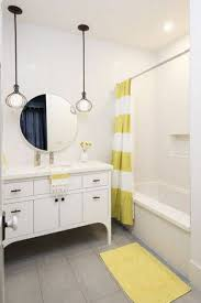 lighting in bathroom for round mirror interiordesignew com