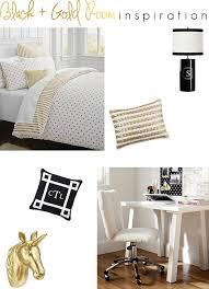 Black And Gold Bedroom Decor Chic Gold Room Decor Hemling Interiors