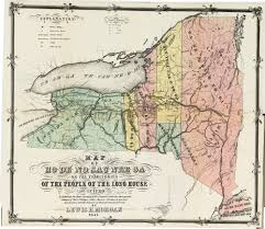 State Of Ny Map by Cayuga County Nygenweb Project Map Page