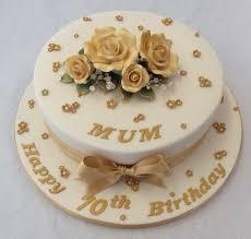 70th birthday cakes 10 gold 70th birthday cake birthday cakes
