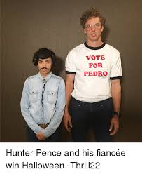 Hunter Pence Memes - vote for pedro hunter pence and his fiancée win halloween thrill22