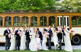 wedding rentals nj trolley rentals in new jersey