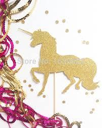 unicorn cake topper online shop glittery unicorn cake topper paper cake topper