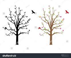 tree wall decal stock vector 108313475 shutterstock
