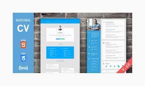 resume html template top 20 premium quality resume cv html templates 2016 designstub