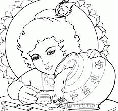 baby krishna images coloring pages coloring pages