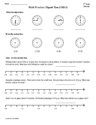 elapsed time worksheets 4th grade 4th grade math worksheets elapsed time
