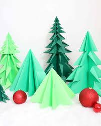 origami trees
