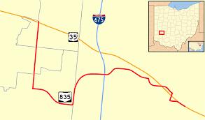 Google Maps Dayton Ohio by Ohio State Route 835 Wikipedia