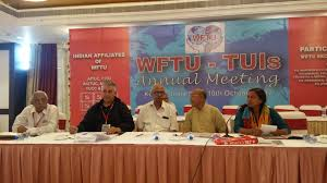 tuis wftu india the wftu tui meeting is continuing for the second day