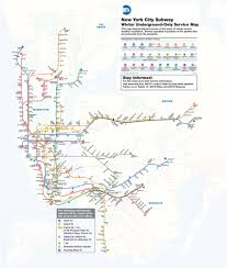 New York Metro Station Map by Nyc Subway Will Stop Above Ground Service Overnight Due To Winter