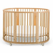 Oval Crib Mattress Stokke Sleepi 3 Nursery Set Modern Oval Crib With Mattress