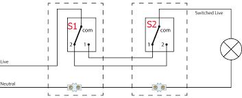 2 way switch wiring diagram