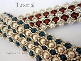 pearl beaded bracelet images Pdf tutorial beaded bracelet 8mm 6mm pearl seed bead pinterest jpg