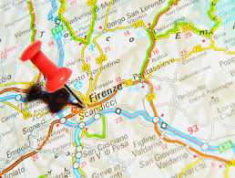 Map Of Florence Italy by London Uk 13 June 2012 Florence Italy Marked With Red