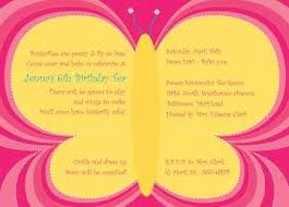 Butterfly Invitations Butterfly Invitation Wording Hallo