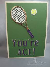 you re ace birthday card rackets tennis and birthdays