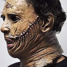 leatherface mask leatherface mask the chainsaw scary