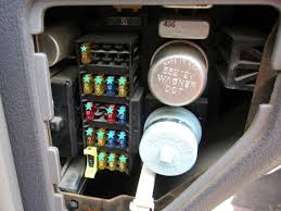 where is the fuse box where is the fuse box on a 1966 mustang