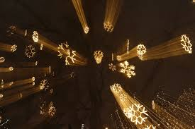 led lighting minimalis led snowflake lights outdoor string of