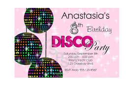 disco party invitations cloveranddot com