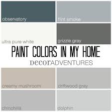 paint colors in my home free printable creamy mushrooms behr