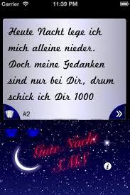 gute nacht sprüche gute nacht sms sprüche lite iphone deutsche apps