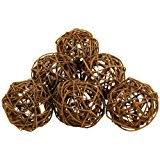 grapevine balls brown twig 1 3 4 grapevine balls package of 20