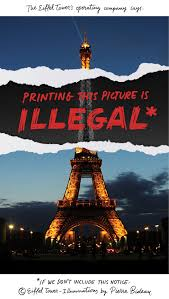 smiths point light show banned taking pictures of the eiffel tower at night politico