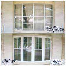 elegant bow window replacement without the cables your bay window creative of bow window replacement our work window world before amp after gallery window world tx
