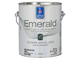 sherwin williams emerald exterior paint consumer reports