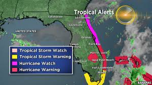 Map Of Jacksonville Florida by Hurricane Watch In Effect From Near Jacksonville Fl To Palm Bay