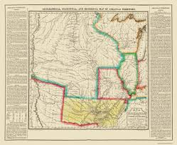 State Of Arkansas Map by Old State Map Arkansas Territory Long 1822
