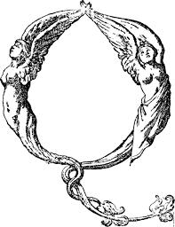 initial leter q from mitelli u0027s alphabet